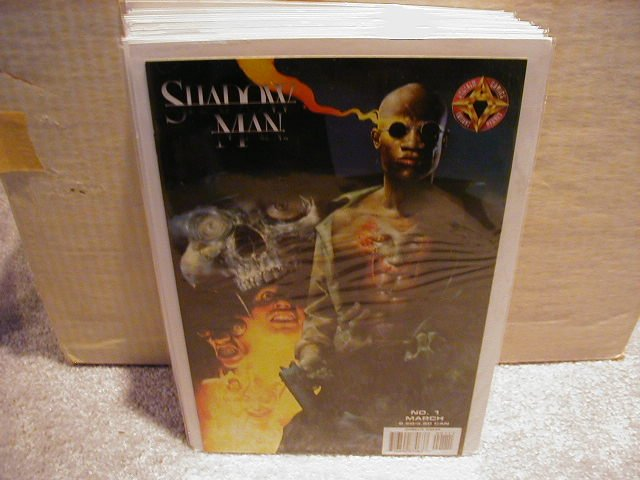 SHADOW MAN #1 VF OR BETTER � ACCLAIM/VALIANT
