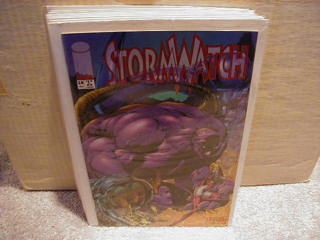STORMWATCH #16 (11/94) VF OR BETTER � IMAGE �