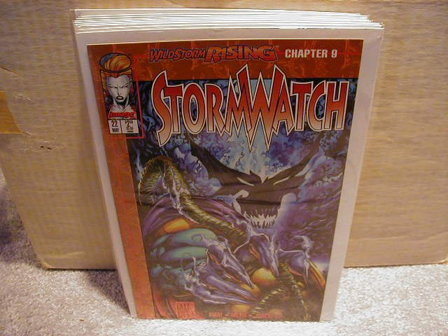 STORMWATCH #22 (5/95) VF OR BETTER � IMAGE �