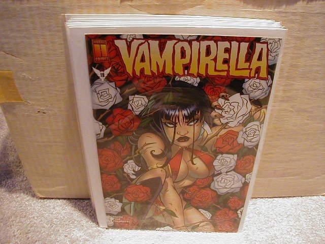 VAMPIRELLA #19 VF OR BETTER  -HARRIS COMICS-
