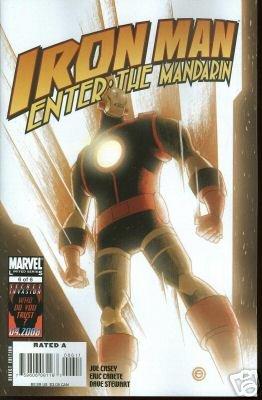 IRON MAN ENTER: THE MANDARIN #6 NM (2008)
