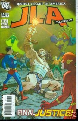 JLA CLASSIFIED #54 NM (2008)