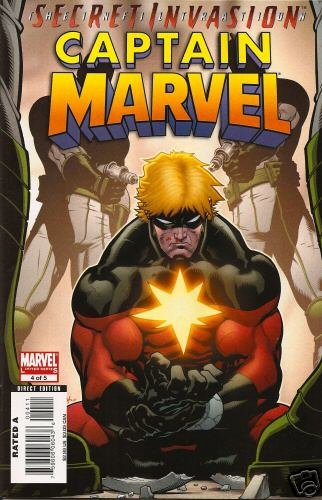 CAPTAIN MARVEL #4 NM  LIMITED SERIES (2008)SECRET INVASION