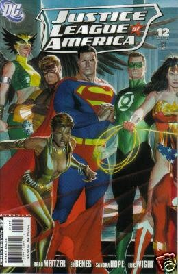 JUSTICE LEAGUE OF AMERICA #12A ALEX ROSS NM