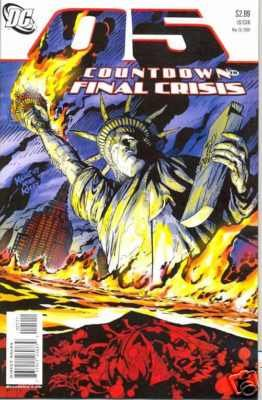 COUNTDOWN TO FINAL CRISIS #5 NM (2008)