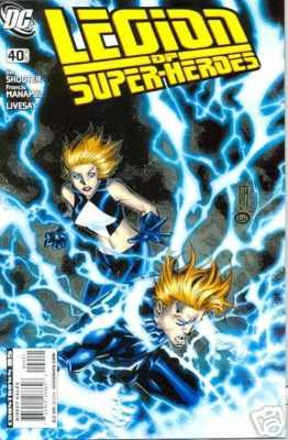 LEGION OF SUPERHEROES #40 NM (2008)