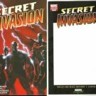 SECRET INVASION #1 SET OF BOTH REGULAR AND BLANK CONVENTION COVER BOTH 1ST PRINTS NM(2008)