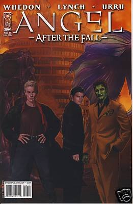 ANGEL -AFTER THE FALL- #6 COVER A NM (2008)