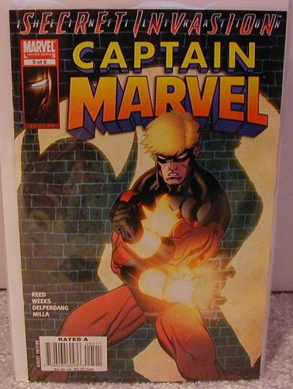 CAPTAIN MARVEL #5 NM (2008) LIMITED SERIES-SECRET INVASION