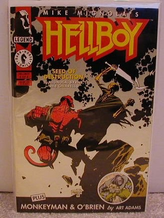 HELLBOY SEED OF DESTRUCTION #4 VF/NM