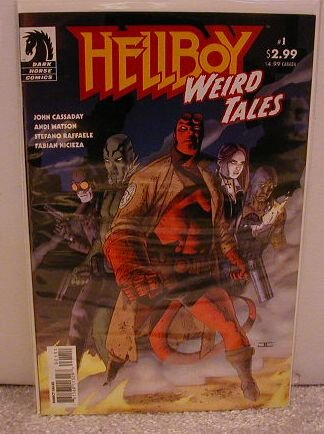 HELLBOY WEIRD TALES  #1 F/VF