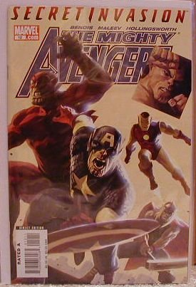 MIGHTY AVENGERS #12 NM (2008) SECRET INVASION