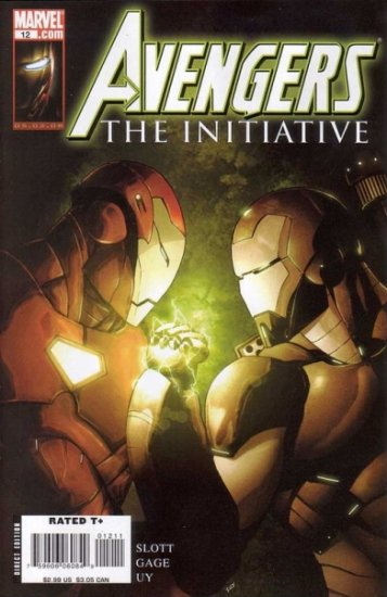 AVENGERS THE INITIATIVE #12 NM IRON MAN