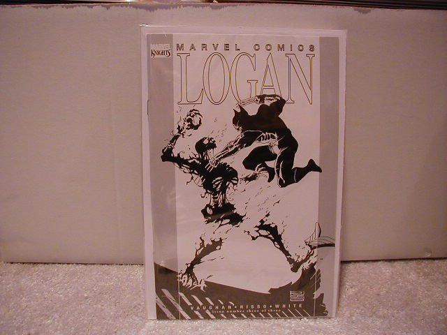 LOGAN #3 NM (2008) BLACK AND WHITE VARIANT