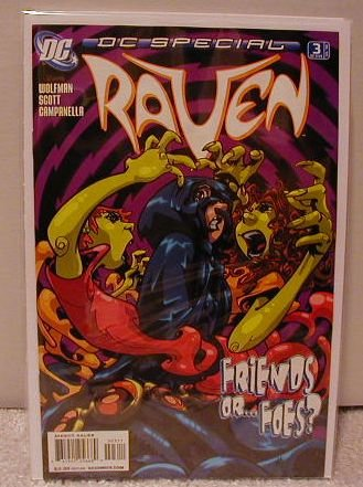 DC SPECIAL RAVEN #3 NM (2008)