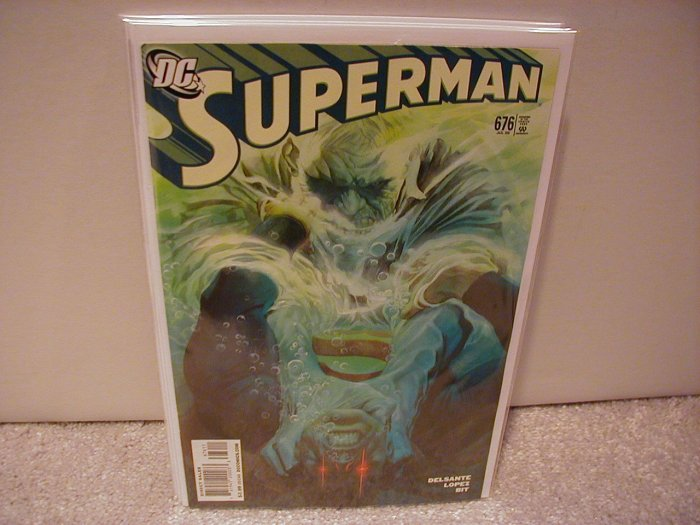 SUPERMAN # 676 NM (2008)