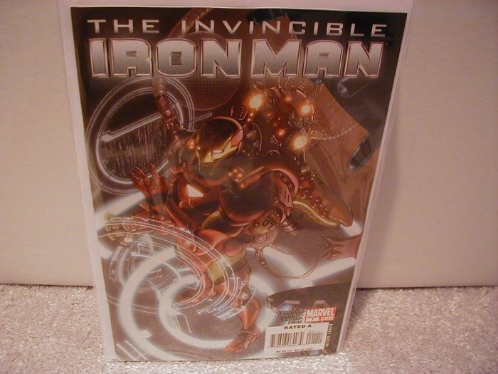 INVINCIBLE IRON MAN # 1 NM (2008) (COVER B)