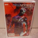 NEW UNIVERSAL SHOCKFRONT #1 NM(2008)
