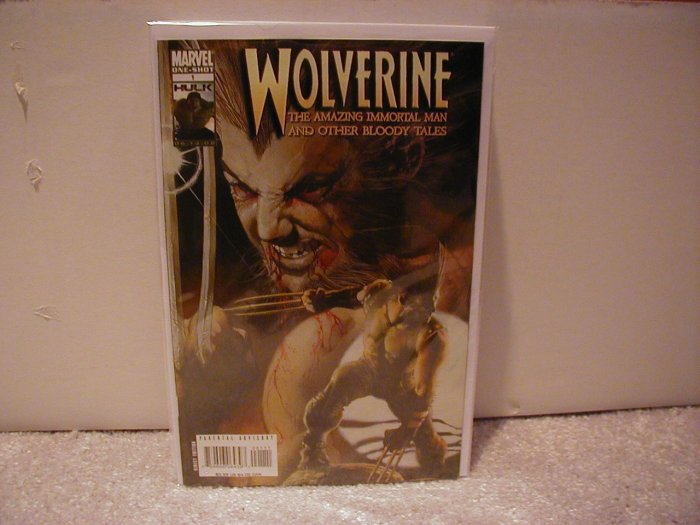 WOLVERINE THE AMAZING IMMORTAL MAN AND OTHER BLOODY TALES # 1 NM (2008)