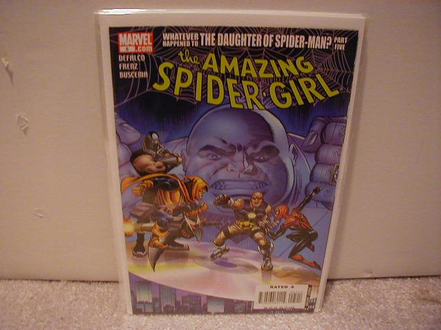 AMAZING SPIDER-GIRL # 5 VF/NM