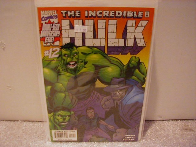 INCREDIBLE HULK #12 VF/NM (2000)
