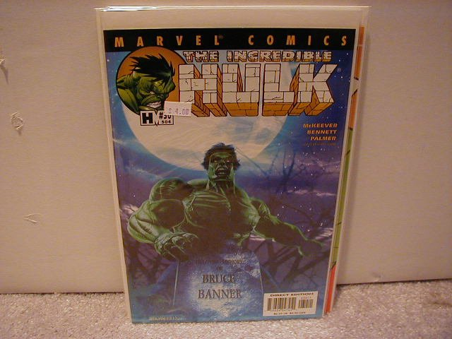 INCREDIBLE HULK #30 VF/NM (2000)