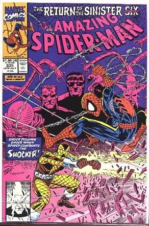 AMAZING SPIDER-MAN #335 VF/NM