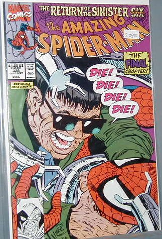 AMAZING SPIDER-MAN #339 VF/NM