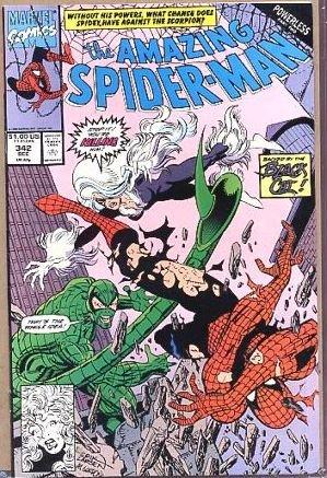 AMAZING SPIDER-MAN #342 VF/NM