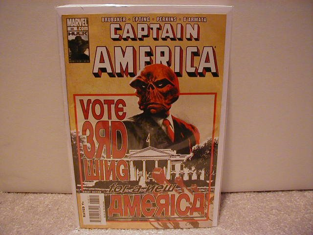 CAPTAIN AMERICA #38 NM (2008)