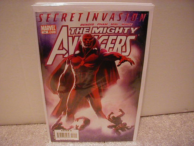 MIGHTY AVENGERS # 14 NM (2008) (SECRET INVASION)