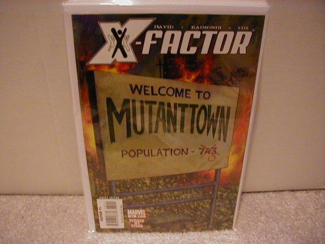 X-FACTOR #31 NM (2008)