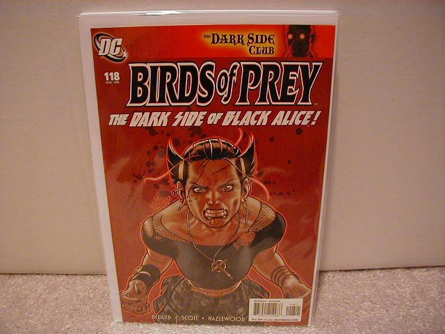 BIRDS OF PREY # 118 NM (2008)
