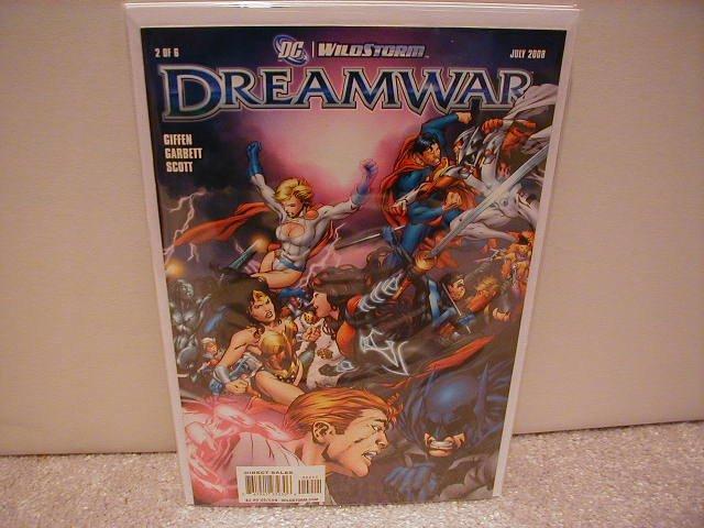 DREAMWAR # 2 OF 6 NM (2008)