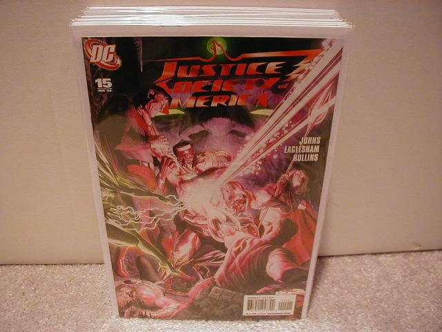 JUSTICE SOCIETY OF AMERICA # 15 NM (2008)