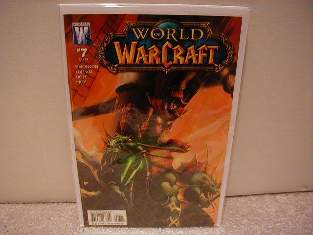WORLD OF WARCRAFT # 7 NM (2008) (COVER A)