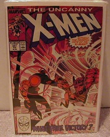 UNCANNY X-MEN #247 VF-