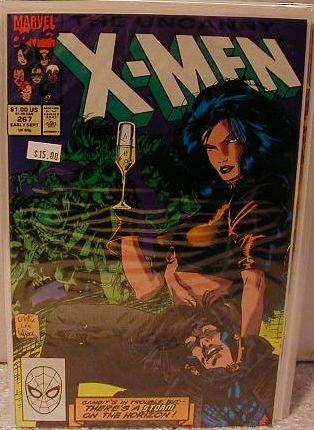 UNCANNY X-MEN #267 VF/NM 2ND GAMBIT