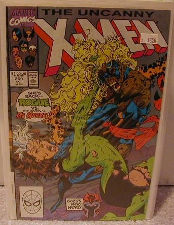 UNCANNY X-MEN #269 VF/NM
