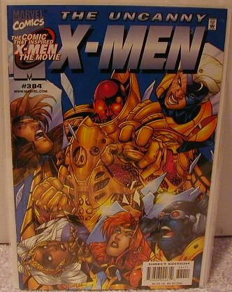 UNCANNY X-MEN #384 VF/NM