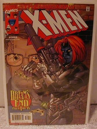 UNCANNY X-MEN #388 VF/NM DREAM'S END PART 1