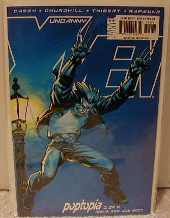 UNCANNY X-MEN #395 VF/NM Poptopia part 1