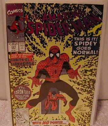 AMAZING SPIDER-MAN #341 VF/NM