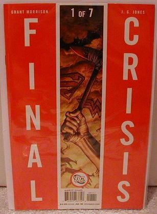 FINAL CRISIS #1 NM (2008) �B� COVER- D.C. MINI SERIES OF 2008