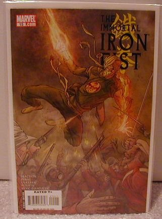 IMMORTAL IRON FIST #15 NM (2008)