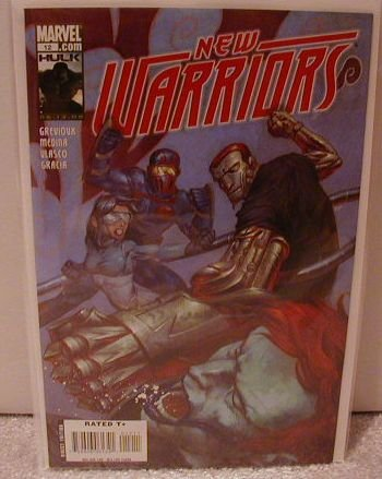 NEW WARRIORS #12 NM (2008)