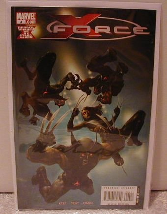 X-FORCE #4 NM(2008)