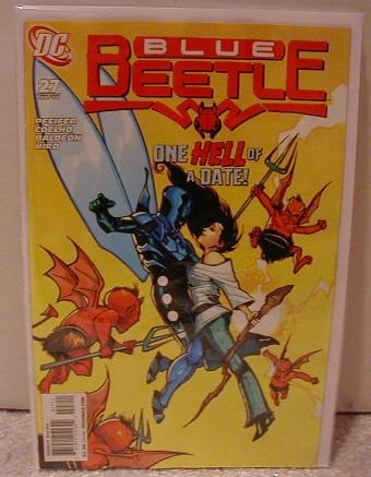 BLUE BEETLE #27 NM(2008)