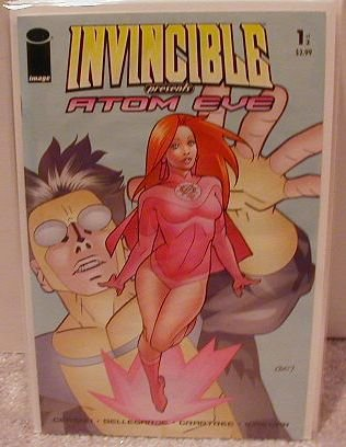 INVINCIBLE PRESENTS ATOM EVE #1 NM (2008)