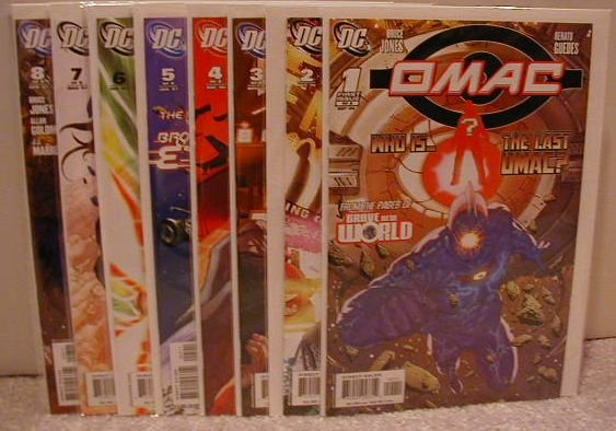 OMAC (2006-7)  SET OF 1-8 ALL NM * FREE SHIPPING PLUS BONUS*